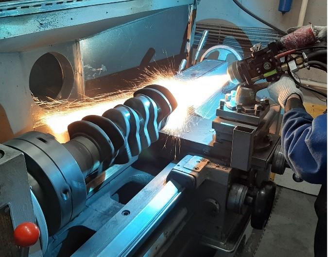 активированная дуговая металлизация