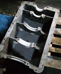 Восстановление посадочных мест под подшипники качения в редукторе авто-мобилей и спец. техники